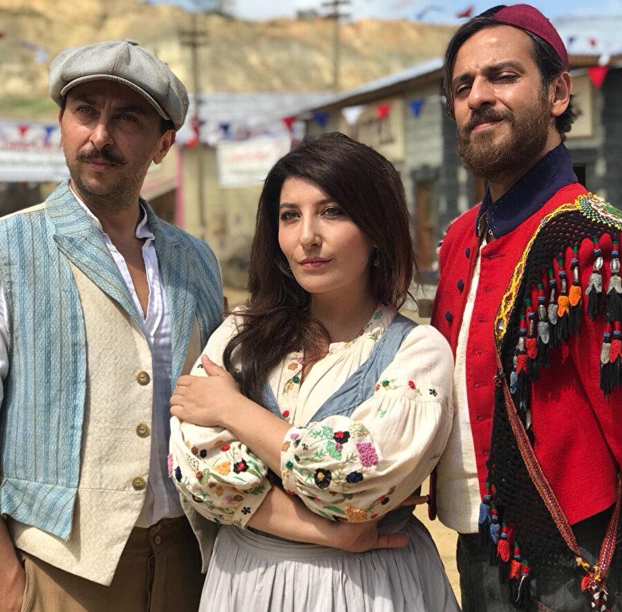 Şebnem Bozoklu, Erkan Kolçak Köstendil ve Ali Atay.