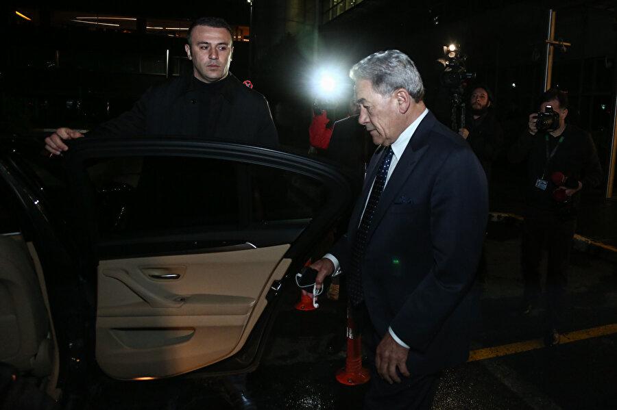 Yeni Zelanda Dışişleri Bakanı Winston Peters, geçen hafta ülkesinde yaşanan ve 50 kişinin hayatını kaybettiği cami saldırıları sonrası İstanbul'a geldi.