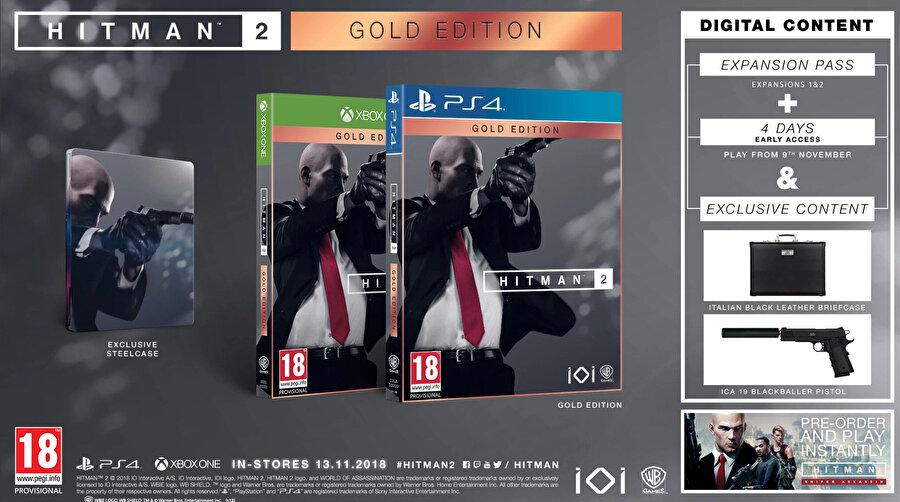 Hitman 2 Gold Edition.