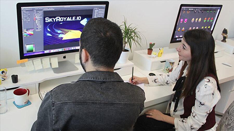 Oyun konusunda onlarca farklı yerli şirket aktif olarak 'üretime' devam ediyor.