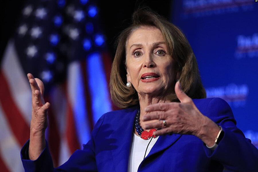 Temsilciler Meclisi'nin Demokrat Partili Başkanı Nancy Pelosi