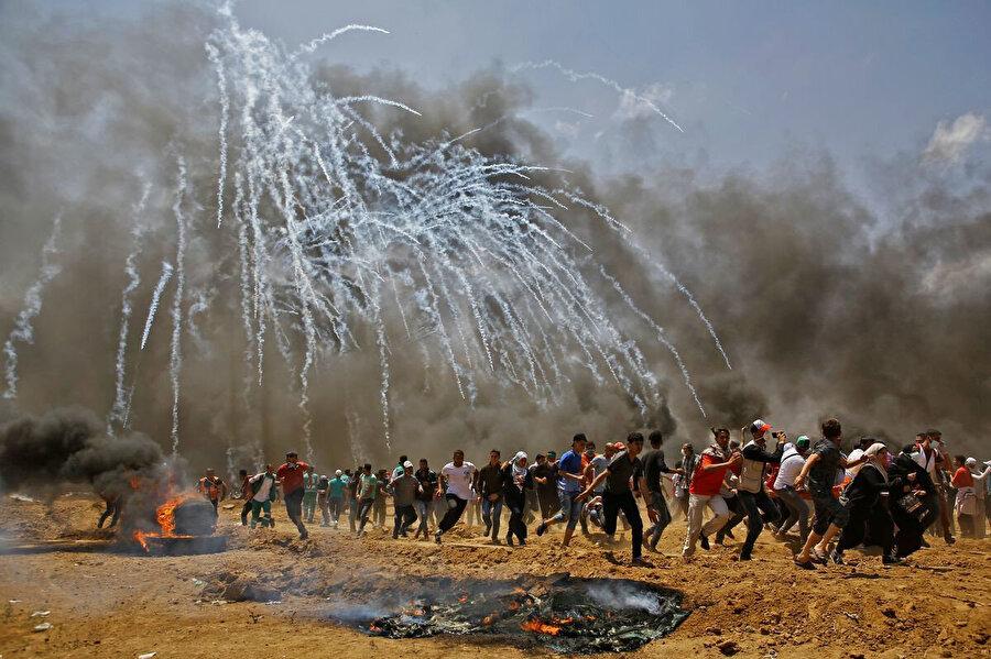 İsrail ordusunun sınırdaki orantısız güç kullanımı devam ediyor