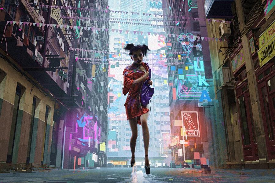 Love, Death and Robots'in oluşturduğu bilim kurgu evreni, gerçekliği animasyon uyarlaması ile sağlamış görünüyor.
