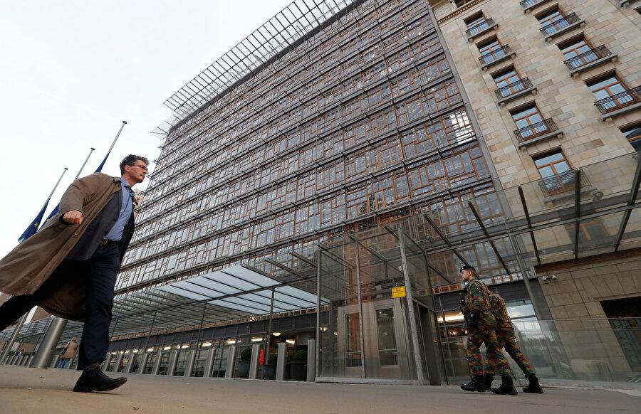 AB'nin Brüksel binası