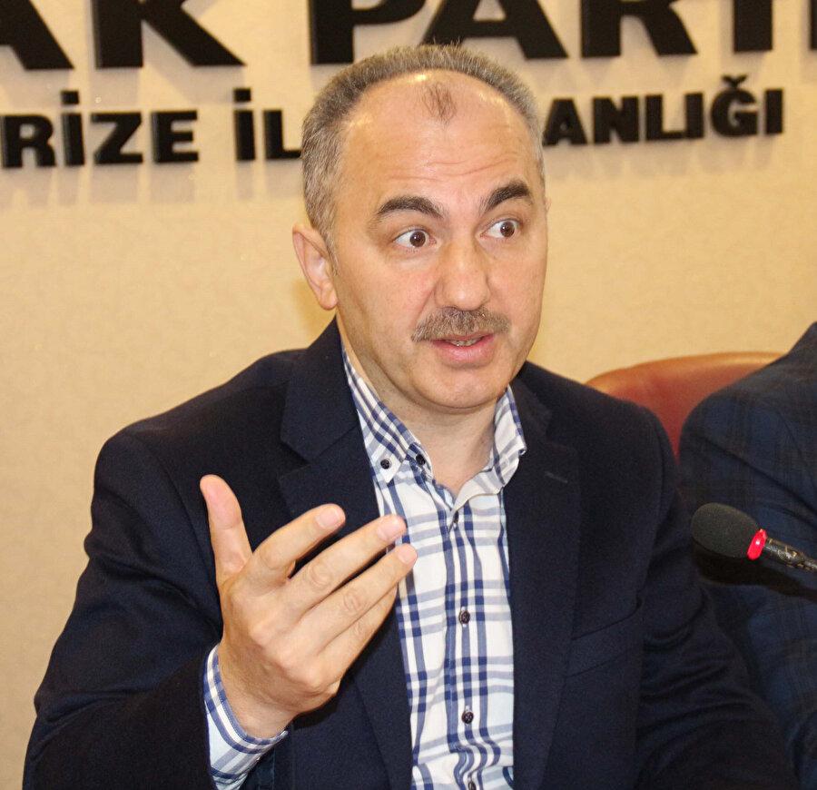 AK Parti Rize Belediye Başkan Adayı Rahmi Metin