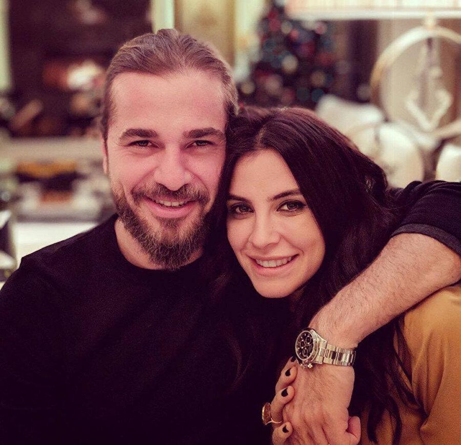 Engin Altan ve eşi Neslişah Alkoçlar.