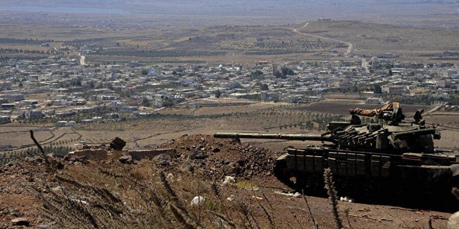 ABD'nin Golan Tepelerine ilişkin kararı İran'da tepkiyle karşılandı.