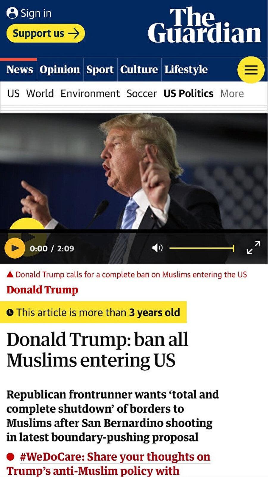 The Guardian, başlığın hemen üstünde haberin tarihini yazma kararı aldı.