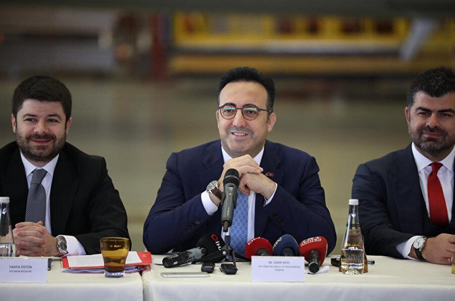 Türk Hava Yolları Yönetim Kurulu ve İcra Komitesi Başkanı M. İlker Aycı açıklamalarda bulundu.