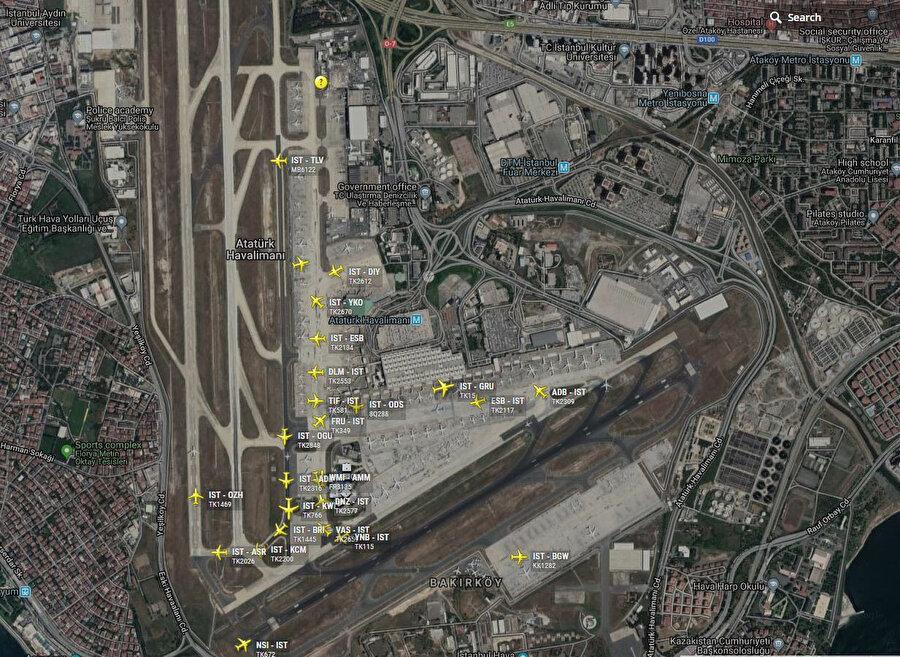 Taşınma sırasında iki havalimanının beraber kapasitesi saatlik iniş ve kalkış toplam 70 uçak olarak belirlendi.