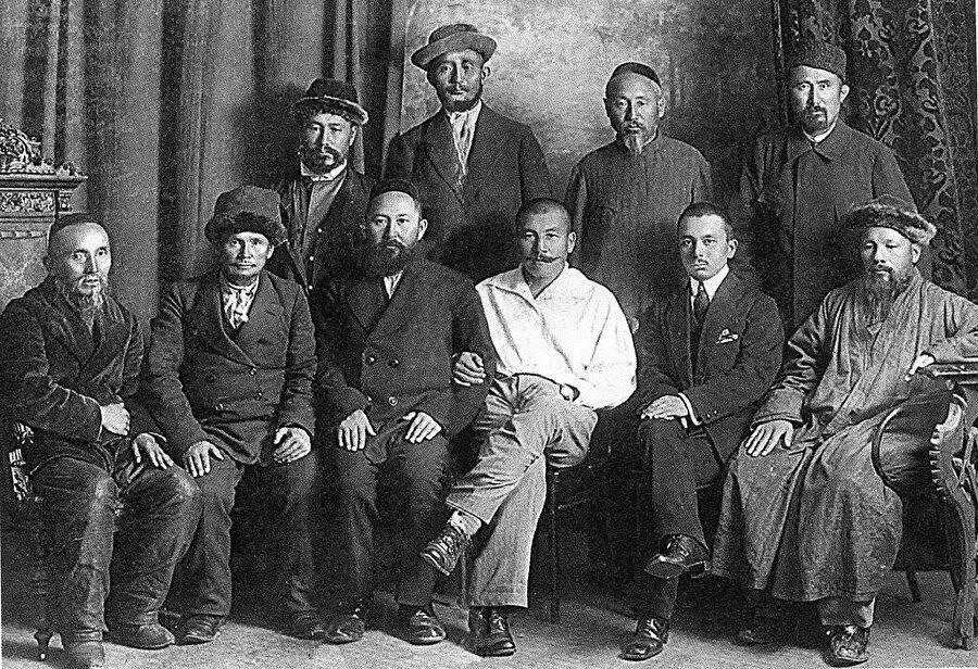 Alaş Orda dönemi (1917-1928) Kazak aydınları - 1918.