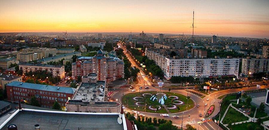 Günümüzde Rusya topraklarına bağlı olan Alaş Orda'nın merkezi Orenburg şehrinin şimdiki hali.