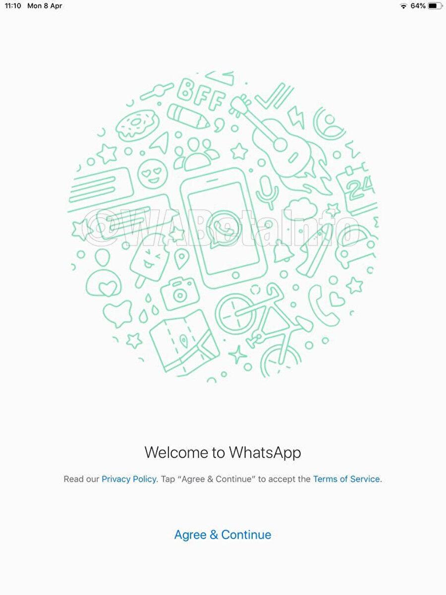 WhatsApp iPad uygulaması uzun süredir bekleniyor ama yeni ekran görüntüleri daha önce çıkanlara göre çok daha detaylı ve gerçeğe yakın.