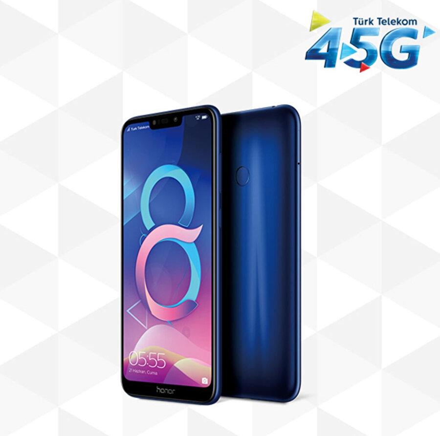 Honor 8C, Türk Telekom üzerinden takas ya da tarifeye ek seçenekleriyle satın alınabiliyor.