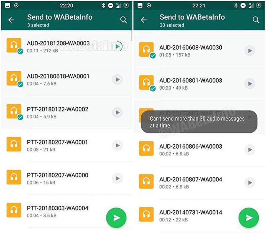 Ses dosyaları bu güncelleme sayesinde Android'de çok daha kolay yönetilebilir ve paylaşılabilir hale geliyor.