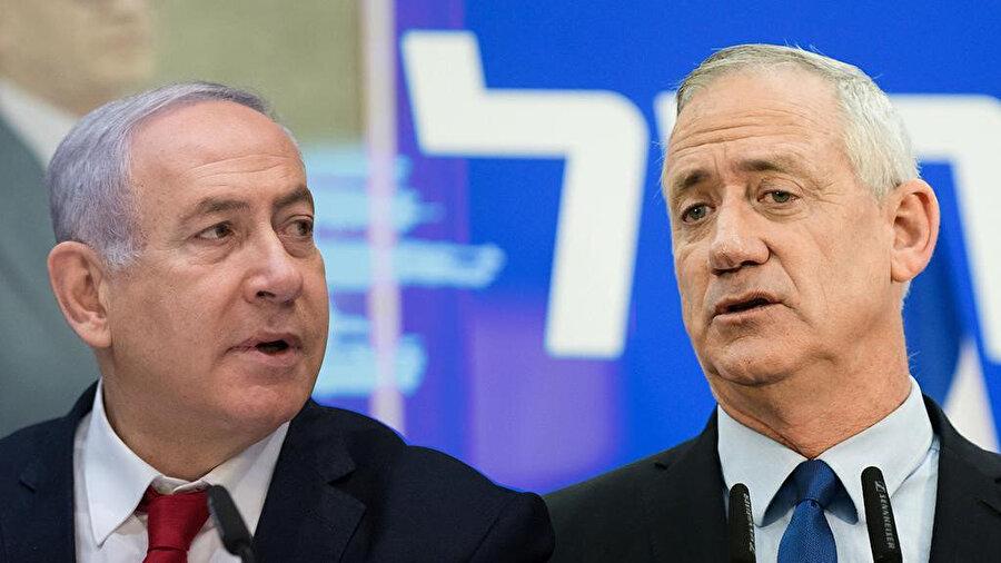 Seçimde en çok sandalye kazanan Binyamin Netanyahu liderliğindeki Likud Partisi ve Benny Gantz liderliğindeki Mavi-Beyaz İttifakı oldu.