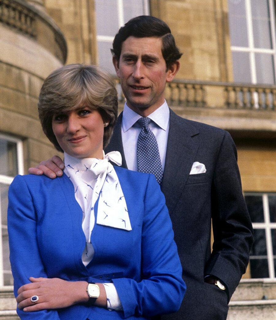 Prenses Diana ve Prens Charles'in iki oğlu vardır.
