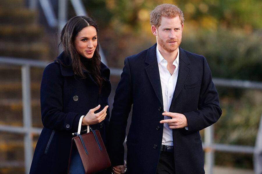 Meghan Markle ve Prens Harry.