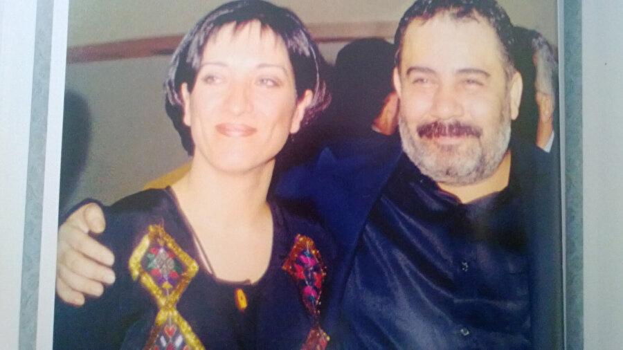 Ahmet Kaya ve eşi.