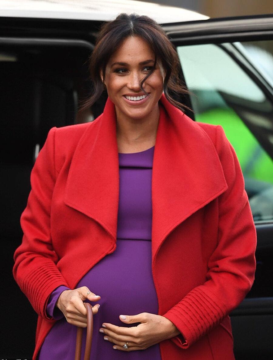 Meghan Markle'nın hamilelik görüntüleri.