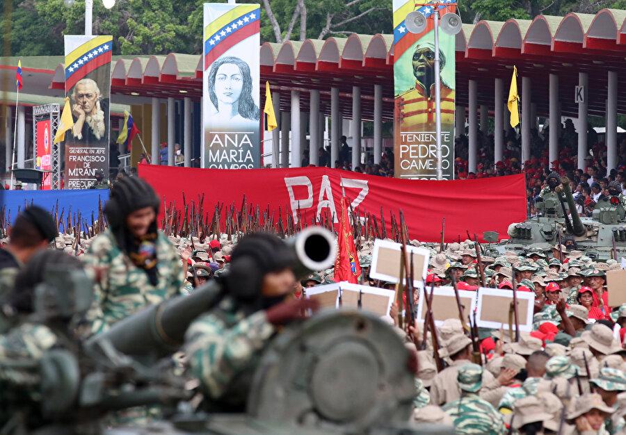 Bolivarcı Ulusal Milis Güçleri, olağanüstü durumlarda silah altına alınacak.