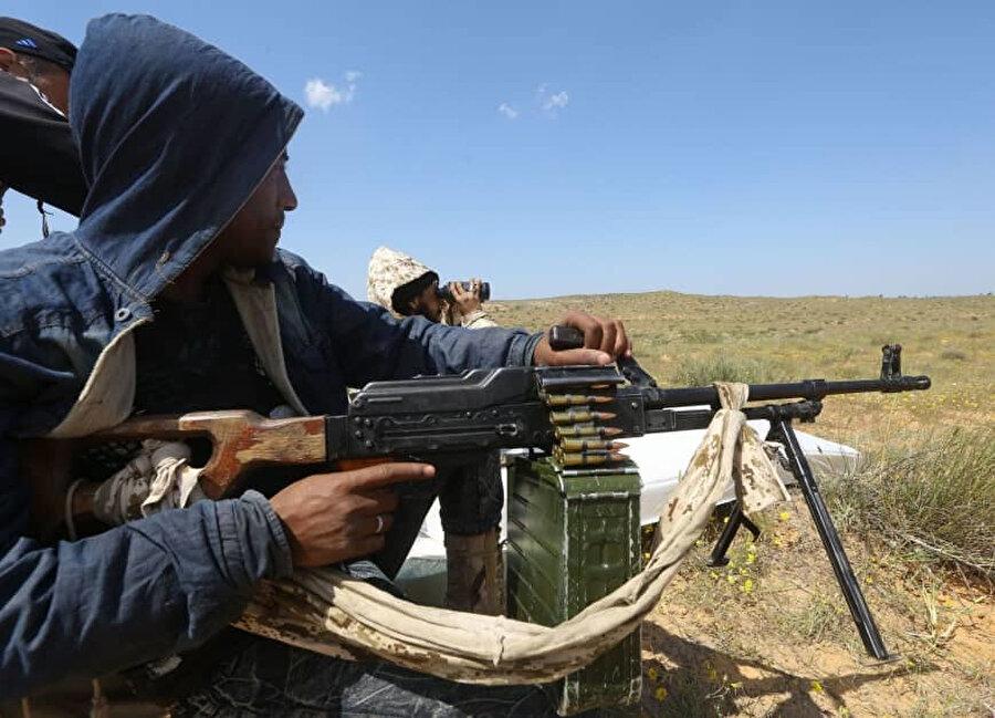 Ayn Zara bölgesine doğru yaklaşan çatışmalar bölge için büyük tehlike oluşturuyor.