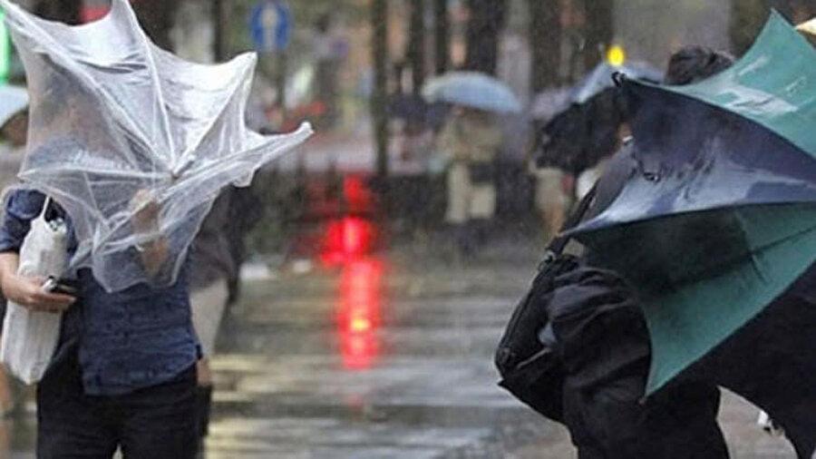 Kuğu fırtınasıyla beraber, şiddetli yağış ve rüzgar gündelik hayatı olumsuz yönde etkileyecek.