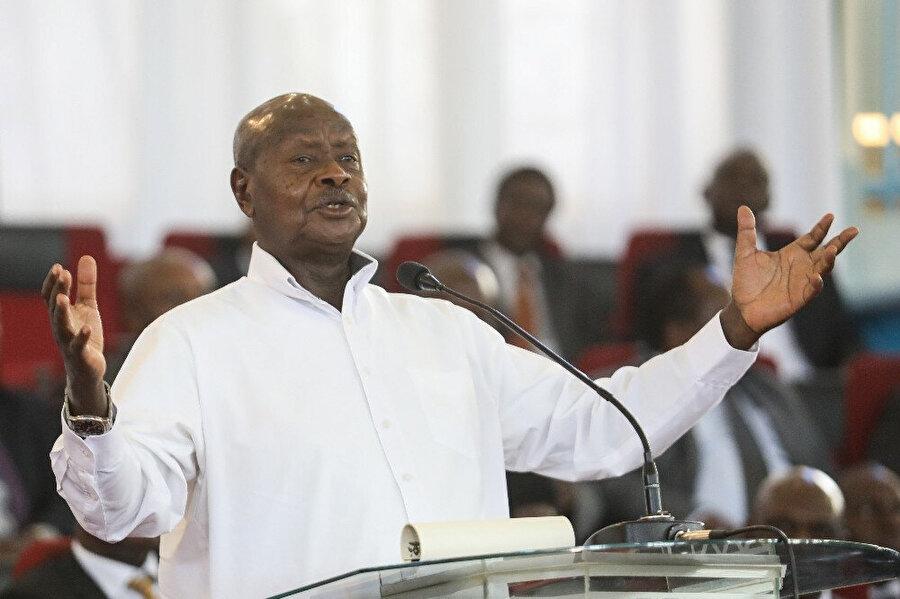 Uganda'nın Dışişlerinden Sorumlu Devlet Bakanı Okello Oryem.