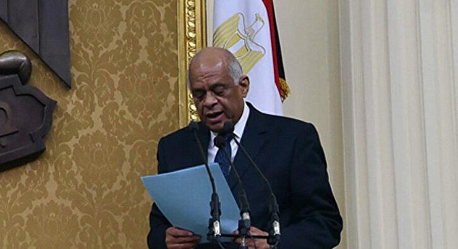 Mısır Parlamentosu Başkanı Ali Abdulal.