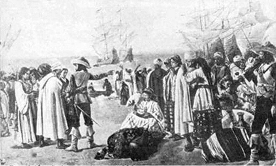 Moriskoların sürgün edilişi 1609.