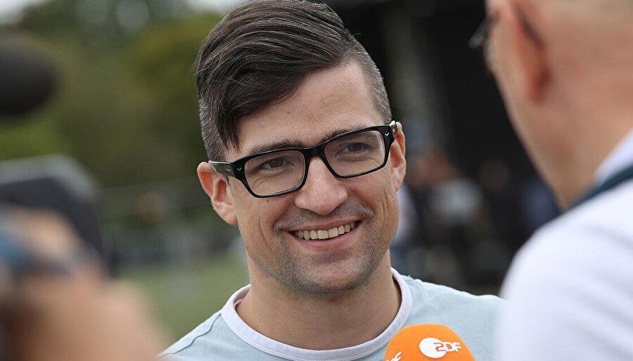 Avusturya'daki Neonazi Kimlikçiler Hareketi Sözcüsü Martin Seller