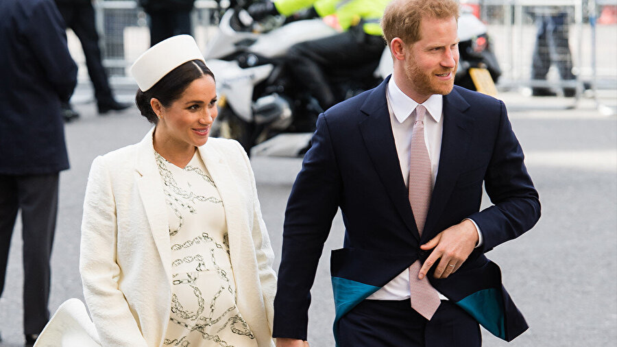 Prens Harry ve Meghan Markle.
