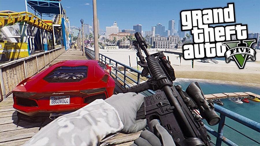 GTA V, dünyanın en çok satın alınan oyunları listesinde zirvede yer alıyor.n