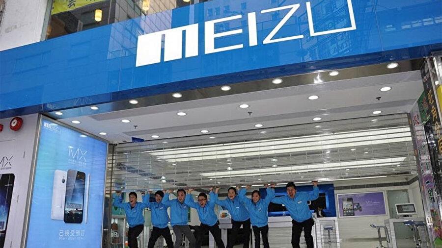 Çin'in yükselen teknoloji değerleri arasında gösterilen Meizu, günden güne büyüyor.