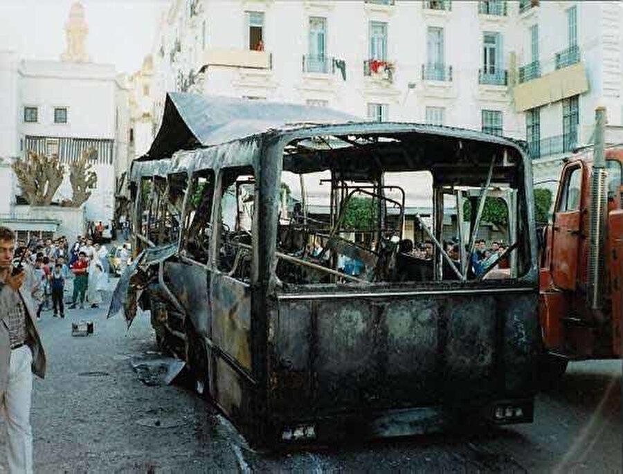 Otobüste intihar saldırısı Haziran 1997.