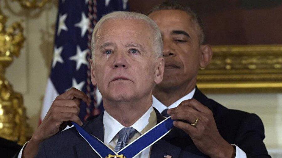 Joe Biden, 2009-2017 arasında Obama'nın yardımcılığını yapmıştı.