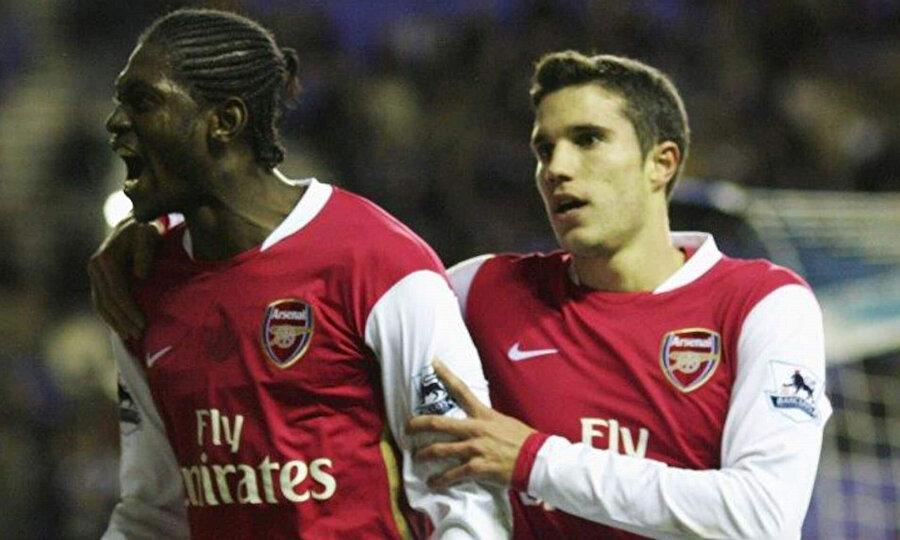Emmanuel Adebayor & Van Persie
