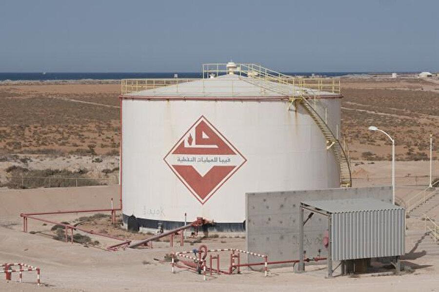 Libya'daki petrol tesisleri.