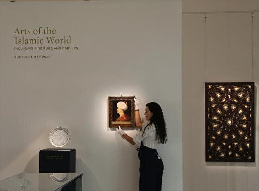 Sotheby's müzayede evinde gerçekleştirilen açık artırmada satıldı/ Fotoğraf: Sotheby's