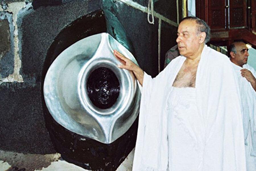 Haydar Aliyev Umre ziyaretinde (Tarih:1994)