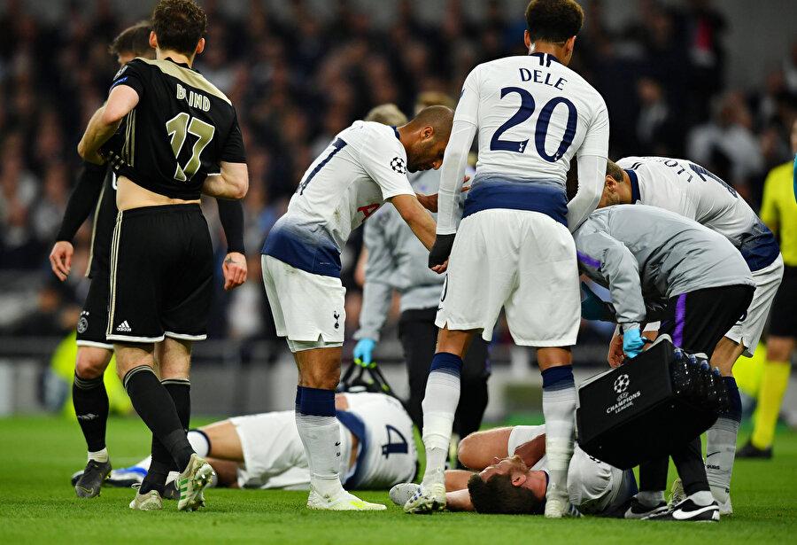 Vertonghen, Ajax maçında yerde hareketsiz kalarak taraftarları korkutmuştu.