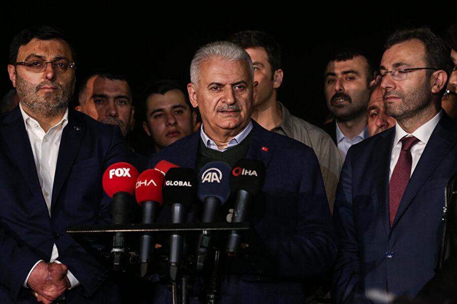 YSK'nın kararının ardından Binali Yıldırım açıklamalarda bulundu.