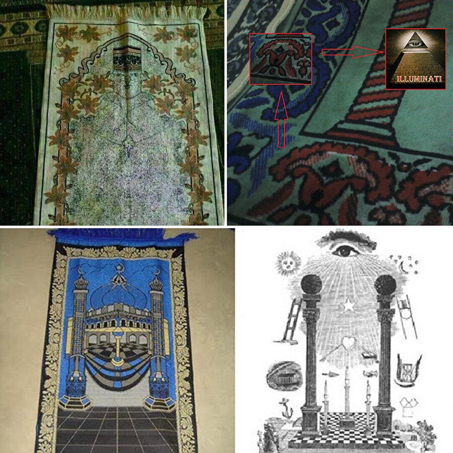 Bazı seccadelerin üzerinde İslam'a aykırı semboller ve resimler yer alabiliyor, bu da vatandaşların tepkisine yol açıyor.