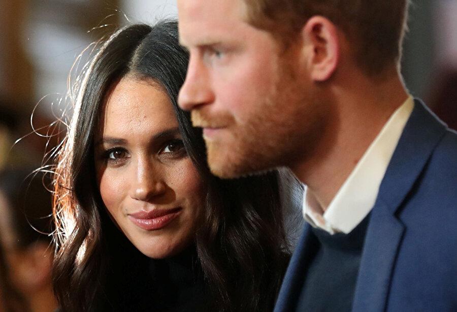 Prens Harry ve Meghan Markle.