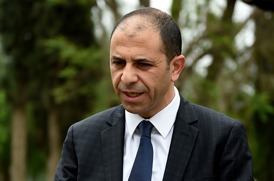 Başbakan Yardımcısı ve Dışişleri Bakanı Kudret Özersay.