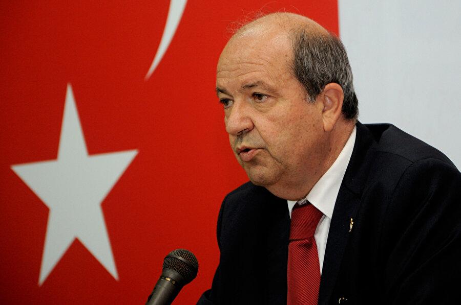 Ana Muhalefet Ulusal Birlik Partisi (UBP) Genel Başkanı Ersin Tatar.