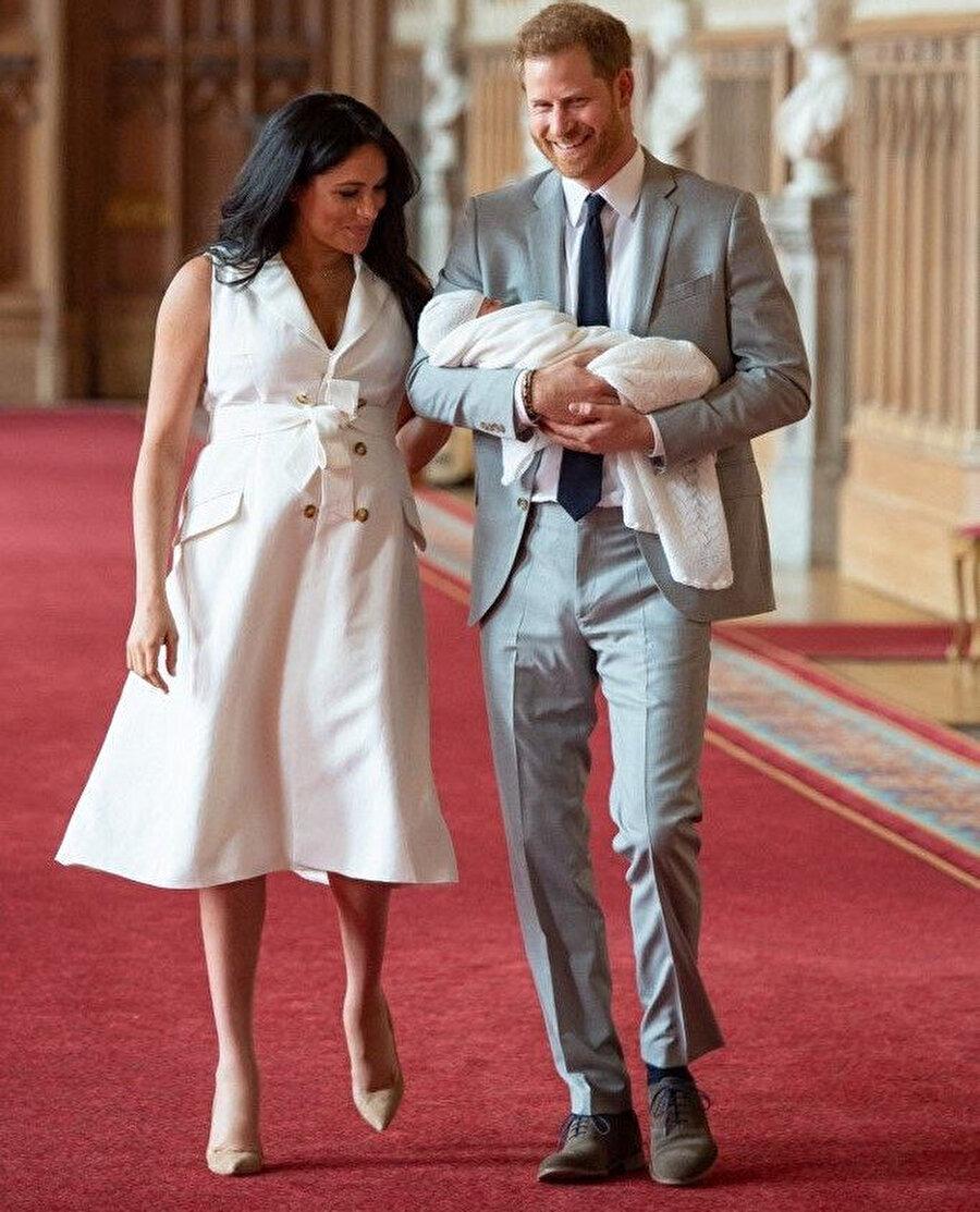Prens Harry ve Meghan Markle, çok mutlu olduklarını söyledi.