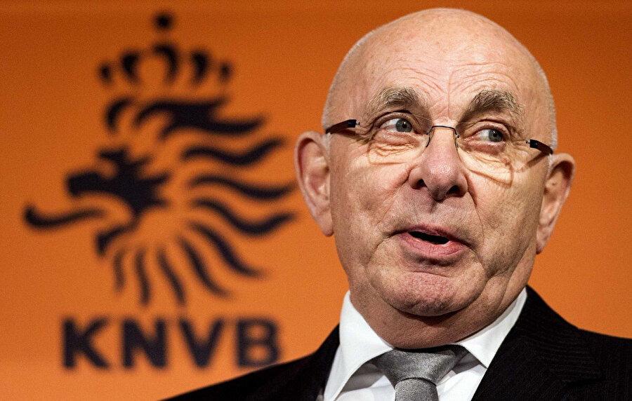 Hollanda Futbol Federasyonu Başkanı Michael van Praag.