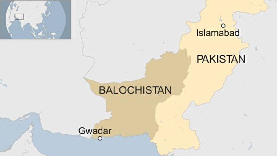 Belucistan Eyaleti'ne bağlı Gvadar kenti.