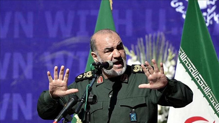 İran Devrim Muhafızları Genel Komutanı General Hüseyin Selami